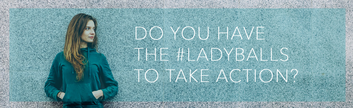 Do you have the ladyballs to take action? Register or donate to the Ovarian Cancer Canada Walk of Hope