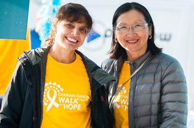 Register to the Ovarian Cancer Canada Walk of Hope